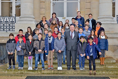 Visite de l'Assemblée nationale - CM2 de l'école Justin-Oudin d'Issy