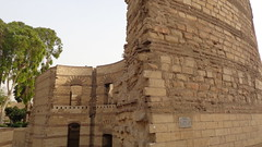 Roman Tower - Babylon Fortress (Rckr88) Tags: cairo egypt africa travel travelling ancient ancientegypt relic relics roman tower babylon fortress romantower babylonfortress coptic copticcairo
