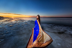 Frozen Lake Beauty (AvijitNandy) Tags: