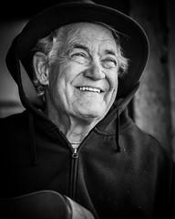Smiling Man (Jose Matutina) Tags: blackwhite caifornia calico civilwar historical reenactment reenactors sel85f14gm sonya7ii yermo
