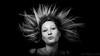 Untitled (#Weybridge Photographer) Tags: hot sexy cute beautiful pretty woman lady girl female model canon eos dslr slr 5d mk ii studio hair blond blonde blow blowing wind windy gust gusty gusting black background adobe lightroom mkii underwear bra lingerie monochrome