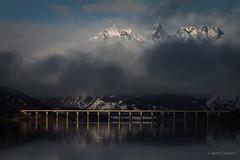 Riaño (AvideCai) Tags: avidecai paisaje agua reflejos montaña nubes niebla riaño nieve
