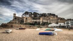 [0180]: Tossa de Mar - Gerona (Pepe Balsas) Tags: tossademar cataluña castillo mar playa