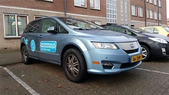 BYD E6 (sjoerd.wijsman) Tags: zuidholland holanda olanda holland niederlande nederland thenetherlands netherlands paysbas carspot carspotting cars car voiture fahrzeug auto autos rotterdam onk blue bluecar bluecars bleu blauw blau byd e6 byde6 06zhp7 sidecode7 08012017