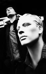 Pretty Vacant (M J Adamson) Tags: mono blackwhite mannequins creepy blackwhitephotography
