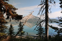Upper Kananaskis Lake walk round Aug 2015 (davebloggs007) Tags: lake canada kananaskis walk mount upper alberta round aug 2015 indefatigable