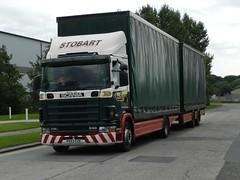 PX53EZE M542 Eddie Stobart Scania Drawbar 'Christine Eve' (graham19492000) Tags: eddie scania stobart drawbar eddiestobart m542 px53eze christineeve
