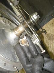IMG_6435 (digyourownhole) Tags: vintage honda motorcycle restoration caferacer cb550 bratt buildnotbought