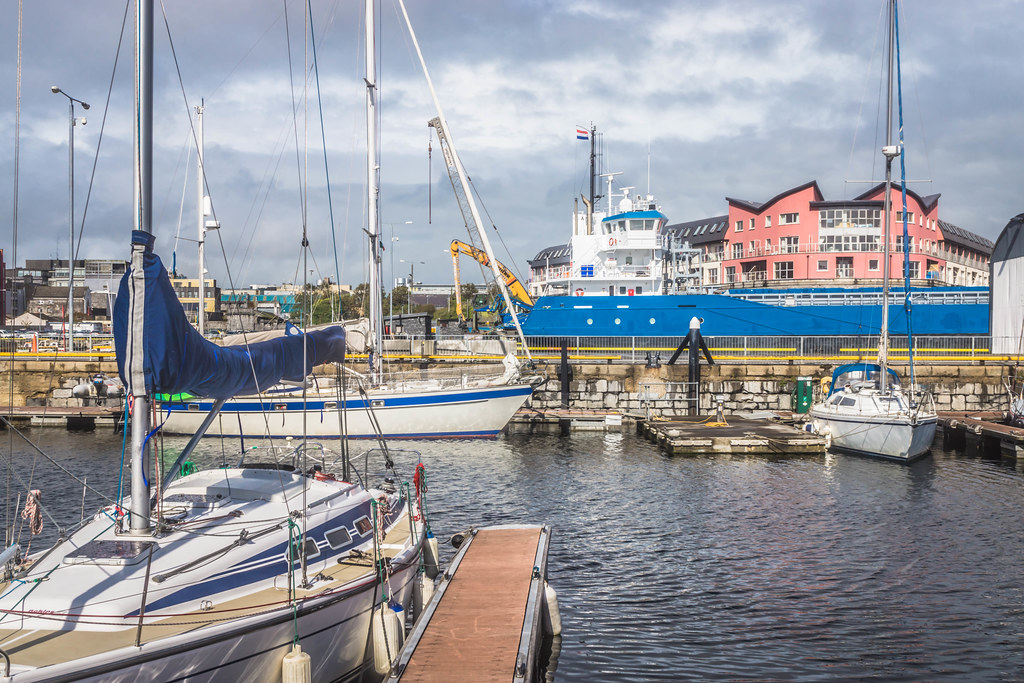 GALWAY HARBOUR AND DOCKLANDS [AUGUST 2015] REF-107505