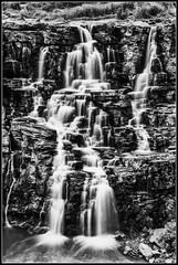 Ethipothala Falls (ujjal dey) Tags: longexposure travel blackandwhite mountain water river landscape flow highcontrast falls slowshutter nagarjunasagar gnd ujjal ethipothalafalls ujjaldey
