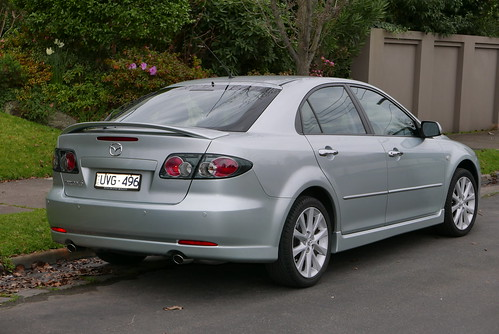 2007 Mazda6 (GG Series 2 MY07) Classic Sports hatchback