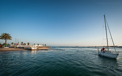 Sancti Petri. (Javier Martinez de la Ossa) Tags: espaa puerto andaluca agua barco cdiz velero sanctipetri horaazul javiermartinezdelaossa