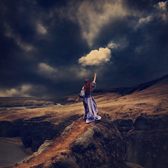 looking for neverland (brookeshaden) Tags: storm iceland fineart conceptual neverland darkart brookeshaden