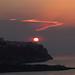 tramonto su Peschici