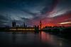 LondonSunsetX (Steve J Cottis) Tags: longexposure sunset housesofparliament bigben nighttime riverthames fireinthesky westminsterbridge tokina1116mm28 nikond5300