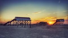 St. Peter Ording at its best (m.luetjens) Tags: sunset sun strand sunrise germany nordsee kitesurf schleswigholstein stpeterording spo nordfriesland