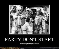 PARTY DON'T START (Chikkenburger) Tags: posters memes demotivational cheezburger workharder memebase verydemotivational notsmarter chikkenburger