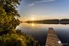 Ponton de Loire (photosenvrac) Tags: photo loire leverdesoleil fleuve sauvage beaugency thierryduchamp messasmoccupe