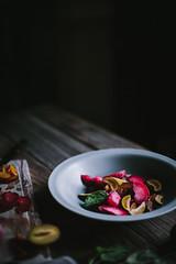 Pluot Pie for One by Eva Kosmas Flores | Adventures in Cooking (Eva Kosmas Flores) Tags: pie dessert plum apricot individual stonefruit forone pluot evakosmasflores