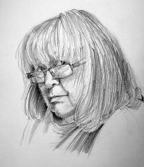 portret (katarzyna.boszko) Tags: portret ołówek