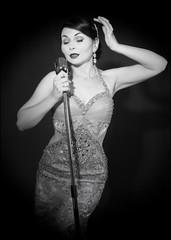 Miss Honey Malone (Craig 2112) Tags: studio mono model honey singer miss malone