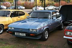 1986 Ford Capri 2.8 Injection (davocano) Tags: brooklands autumnclassicbreakfast d585tfg