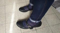 20150917_111115 (microklein50) Tags: feet high sandals flats heels nylon birkenstock leggings ballerinas leggins stckel ballarinas
