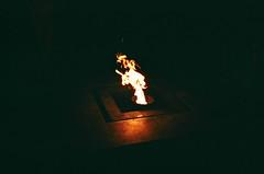 Everlasting Flame, St. Petersburg (adam sharp) Tags: city night stpetersburg lights mju russia olympus fujifilm saintpetersburg superia400 mjuii stp mju2 fujifilmsuperia400 fujifilmsuperia μmjuii olympusμmjuii