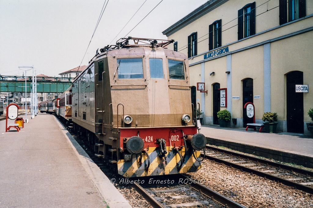The world 39 s best photos of bahn and e424 flickr hive mind - Milano porta genova treni ...