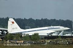 TU144 CCCP-77115 AEROFLOT (shanairpic) Tags: sst aeroflot jetairliner tu144 tupolevtu144