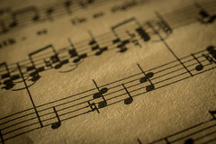 Music to my eyes ....HMM (jenni 101) Tags: music macro lines notes space sheetmusic hmm thespaceinbetween
