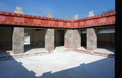 Reconstructed courtyard, Teōtīhuacān