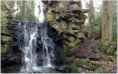 (Riik@mctr) Tags: park water landscape hall nokia waterfall outdoor stockport abney cheadle n95