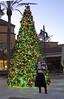 Happy Black Friday (krislagreen) Tags: sweater boots cd skirt christmastree tgirl transgender cape crossdress tg transvetite