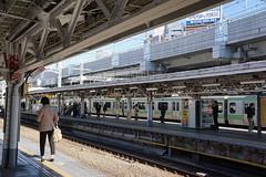 Kanda Station (Kouki Kuriyama) Tags: japan tokyo kanda yamanoteline chiyoda  japanrailway jreast   jr