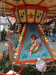 Karussell (micky the pixel) Tags: xmas angel germany deutschland engel merrygoround karussell saarland homburg fahrgeschft nikolausmarkt
