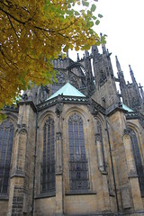St Vitus' Cathedral, Prague Castle, Prague, Czech Republic (adrienne_bartl) Tags: castles europe prague churches cathedrals stvituscathedral praguecastle