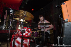 D7K_2220 CC (Braden Bygrave) Tags: show toronto rock drums concert lowlight nikon drum bass guitar flash crowd singer bassist drummer nikonphotography d7100 nikonphoto yn460 nikond7100