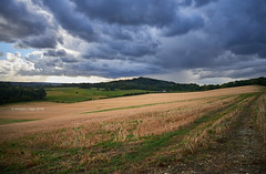 Aproaching Storm (III) (Modesto Vega) Tags: cloud d600 field fullframe nikon nikond600 northdownsway saintmarthaonthehill sky storm surrey surreyhills unitedkingdom