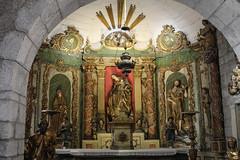 Lourdes Castle Chapel (Lawrence OP) Tags: lourdes castle chapel reredos saints