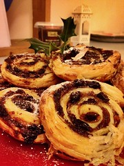 Mince pie swirl (helenwilliams8) Tags: happy xmassy xmas butter buttery puffpastry family round smell allspice cinnamon brandy warm loved steamy party crumbs crumbly crisp cosy hot swirl pastry mincepie christmas