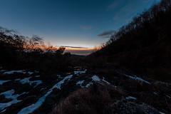 La neve e la colata (LifeReporter) Tags: vesuvio tramonto stelle colatalavica natura cratere neve lava paesaggio isole notte inverno napoli italia