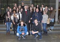 """Schülerinnen und Schüler des St. Anna Gymnasiums in der Wuppertaler Nordstadt zu Besuch • <a style=""""font-size:0.8em;"""" href=""""http://www.flickr.com/photos/38352417@N02/31706541074/"""" target=""""_blank"""">View on Flickr</a>"""