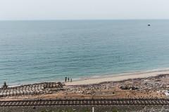 1 2 3 many... | Pamban,Rameswaram. (vjisin) Tags: rameswaram pamban bird india asia tamilnadu incredibleindia outdoor structure humanelement sea travel travelphotography crows train track sky minimalism