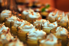 Pudding Cups (heeeerod) Tags: food cupcake treat confection depthoffield macro