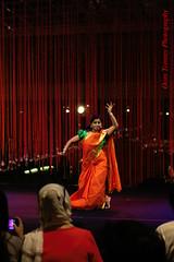 i do this every time I am happy (tomzcafe) Tags: bharatanatyamrhythmandgesturebybharathaaarts dancefestival esplanade singapore nikkorsauto5014 400d