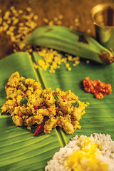 Green banana with split green gram and coconut (Akhil G) Tags: canon banana coconut grams food foodphotgraphy indian andhra veg cuisine culinary recipe cookbook