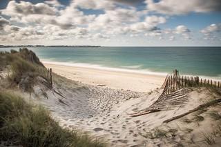 Les plages de Pen Bron