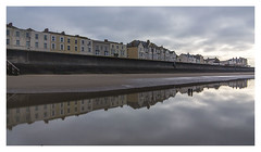 bos-beach-reflections_5967-180117 (Peadingle) Tags: burnhamonsea somerset seafront buildings refelction water beach