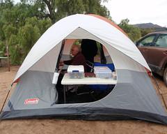 007 The E-Punch Download Tent (saschmitz_earthlink_net) Tags: 2017 california orienteering vasquezrocks aguadulce losangelescounty laoc losangelesorienteeringclub